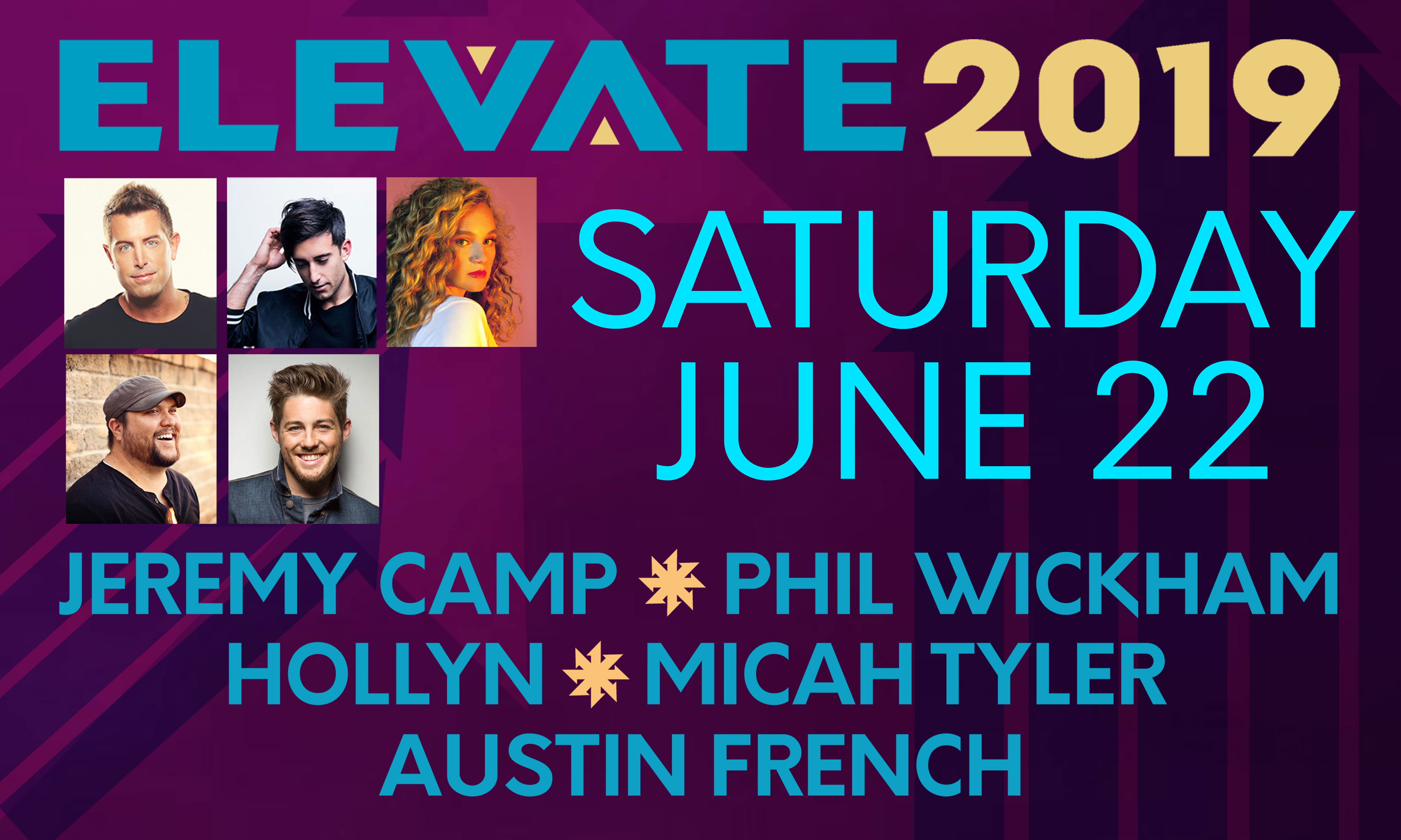 Elevate FB SATURDAY